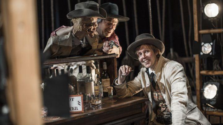 Het wilde westen van Calamity Jane door Theater Gnaffel — De Krakeling, theater voor de jeugd te Amsterdam