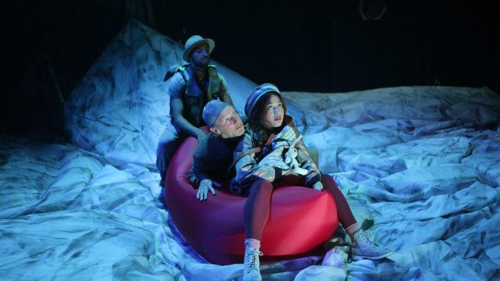 Woestijnjasmijntjes door De Toneelmakerij / George & Eran Producties  — De Krakeling, theater voor de jeugd te Amsterdam