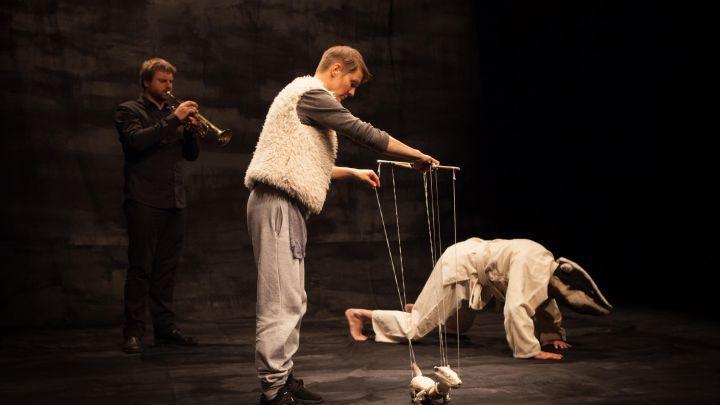 Hoe Licht kan een Wolk zijn door Het Houten Huis / Feikes Huis — De Krakeling, theater voor de jeugd te Amsterdam