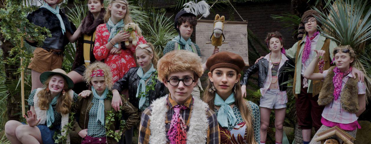 Wonderaars door Amsterdamse jeugdteJAterschool — De Krakeling, theater voor de jeugd te Amsterdam