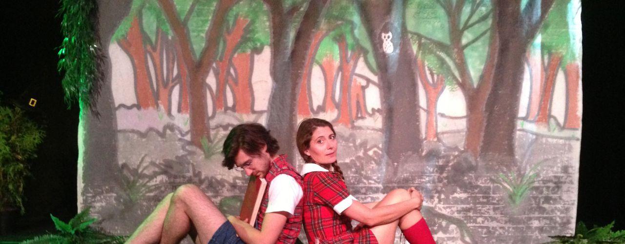 Hans en Grietje door Het Kleine Theater — De Krakeling, theater voor de jeugd te Amsterdam