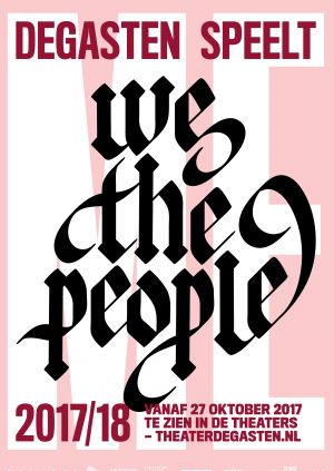 We the people door DEGASTEN