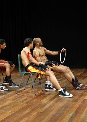 Bonte avond voor bodybuilders door Theater Artemis